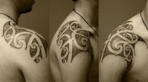 Tribal tattoo Pakistan