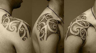 Polynesian tattoo by asif sultan