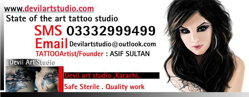 Tattoo Studio In Karachi Pakistan